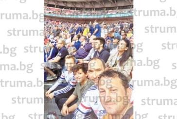 """Благоевградският футболен специалист Емил Кърцелски изгледа мача """"Арсенал""""-""""Челси"""""""