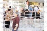 ГЕНОЦИД В ПЕТРИЧ! Изгониха от фоайето на пощата възрастните хора, чакат пенсиите си отвън на адската жега