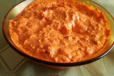 Паста от пиперки и сирене