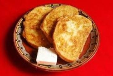 Пържени филийки с кисело мляко