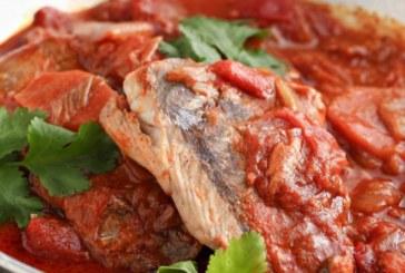 Печена риба по сицилиански