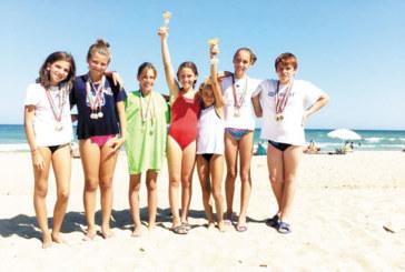 """Плувните надежди на """"GD Sport"""" отличници в националния турнир по водно спасяване"""