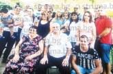 Бившият пощальон в Благоевград П. Михайлов събра на чеверме в Ощава за 75-г. юбилей цялата фамилия – щерки, зетьове, внуци и правнуци