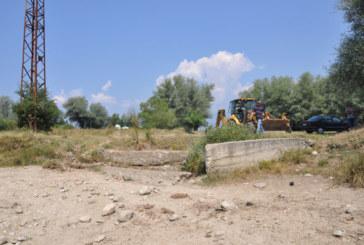 Ремонт на преливника на язовир Камено поле в с. Баня