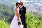 Защитникът на Пирин (Благоевград) Румен Сандев и любимата му Александра вдигнаха пищна сватба