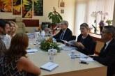 Заместник-кметът на Благоевград Христина Шопова посрещна френска делегация