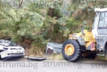 Тежка катастрофа на пътя Железница – Симитли