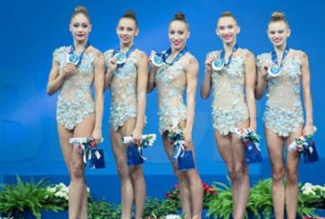 Българските гимнастички втори в света! Грабнаха среброто в Италия