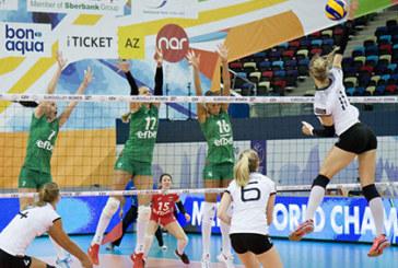 България напусна Европейското по волейбол
