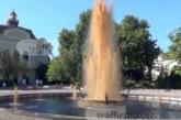 Диетична кóла потече от фонтан