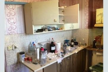 ШОК! Мъж превърна жилището си в лаборатория за производство на наркотици