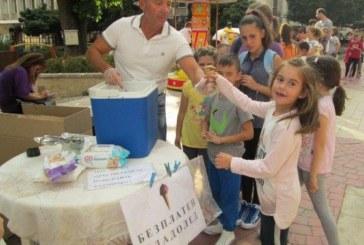 Метеоролог раздава безплатен сладолед