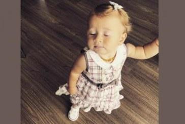 Внучката на Стоичков проходи на 11 месеца