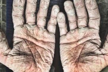 Моля Ви, вижте тези ръце! Няма да познаете на кого са