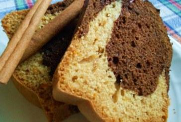Кекс с кисело мляко и орехи
