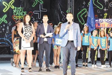 Кметът К. Котев даде старт на Балканския младежки фестивал в Сандански