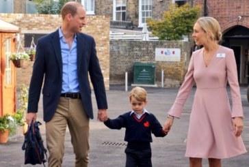 Принц Уилям заведе Джордж на първия учебен ден