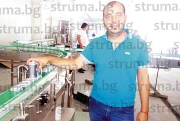 """БИЗНЕС НОВИНА! Благоевградчанинът Д. Стойков патентова собствена марка бира с емблематичното име """"Брекзит"""", бутилира я в кенове и кегове във фабрика в с. Стоб"""