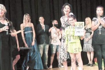 Благоевградчанката Александрина  Механджийска обра златото сред участниците от 12 до 14 г. на Sofia Grand Prix 2017