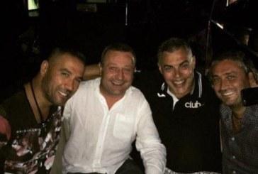 Рачков отпразнува рождения си ден в мъжка компания