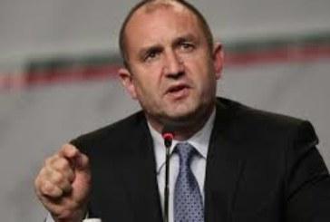 Румен Радев: Президентството трябва да избере човека, който ще разследва правителството