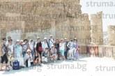 Учителите Н. Куколев и А. Сейменска от Благоевград с тапии за хаджии след 1 седмица обучение в Йерусалим