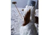 """Зимата даде знак, че е близо! Снежен човек """"покори"""" Мусала"""