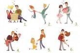 Избери си една от 6-те двойки и виж в каква връзка си