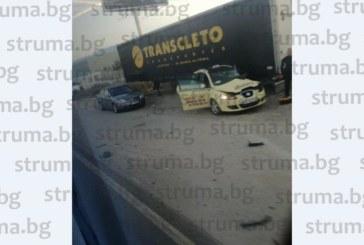 Катастрофа на Е-79 край Сандански! Карат двама ранени в болница