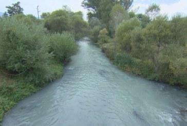 Какво се случва с река Струма, потече синя