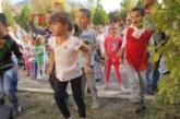 """Възпитаниците на ДГ №2 """"Света Богородица""""  в Благоевград  с крос за здраве"""