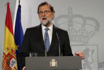 Мариано Рахой уволни управляващите в Каталуния