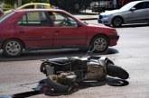 Джигит помете пиян моторист, рокерът потрошен в болница