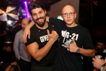 Фики вдигна шумно ергенско парти в столичен клуб