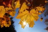 Златна есен! Слънчево с максимални температури до 27°