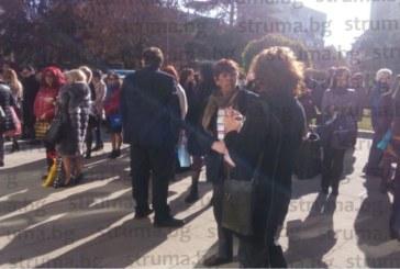 От последните минути! Бомбен терор в храма на Темида в Благоевград, гъмжи от полиция
