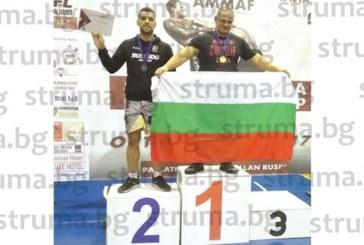 Санданчанинът Илиян Личев стана първият българин шампион на Балканите по ММА в най-тежката категория
