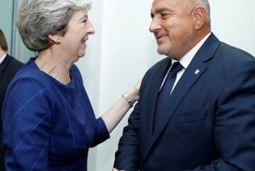 Борисов и Тереза Мей: Сътрудничеството ни ще продължи и след Brexit