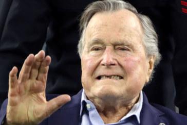 Актриса обвини Буш старши за неприлично поведение