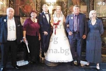 """Служителка в НАП – Благоевград каза заветното """"да"""" на любимия си мъж пред 100 гости"""