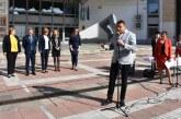 Кметът д-р Атанас Камбитов направи първа копка за благоустрояване на площадното и подплощадното пространство в Благоевград