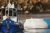 Българска цистерна падна от ферибот в Дунав, румънците в ужас