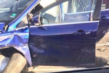 Две коли в жесток сблъсък, има ранени