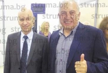 Ексбанкерът В. Рашев се щракна в Гърция със скандалния кмет на Хасково Д. Беливанов