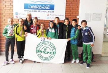 """Плувни надежди на """"Пирин"""" с 6 златни медала в Сърбия"""