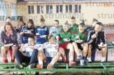 Надеждата на родния футбол Г. Самарджийска черпи с огромна торта, пожелаха й: Продължавай да бележиш, че много гладни футболистки има