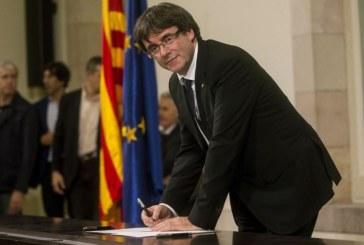 Пучдемон отказа да говори пред испанския Сенат