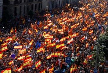 Хиляди протестираха в Барселона: Не искат отделянето на Каталуния