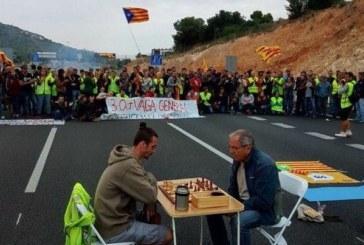 Каталуния стачкува, Барселона без обществен транспорт