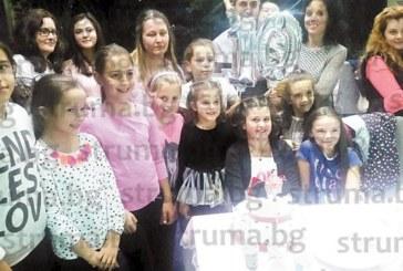 Внучката на бившата главна медсестра Р. Таскова – Радина, чества 10-ия си рожден ден със стилно парти с приятели